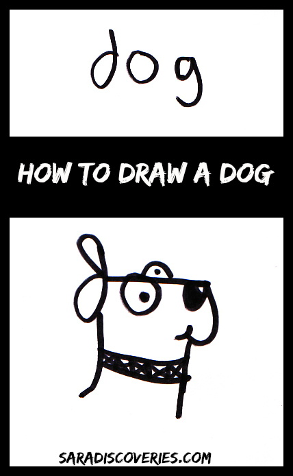 how-to-draw-a-dog-pin